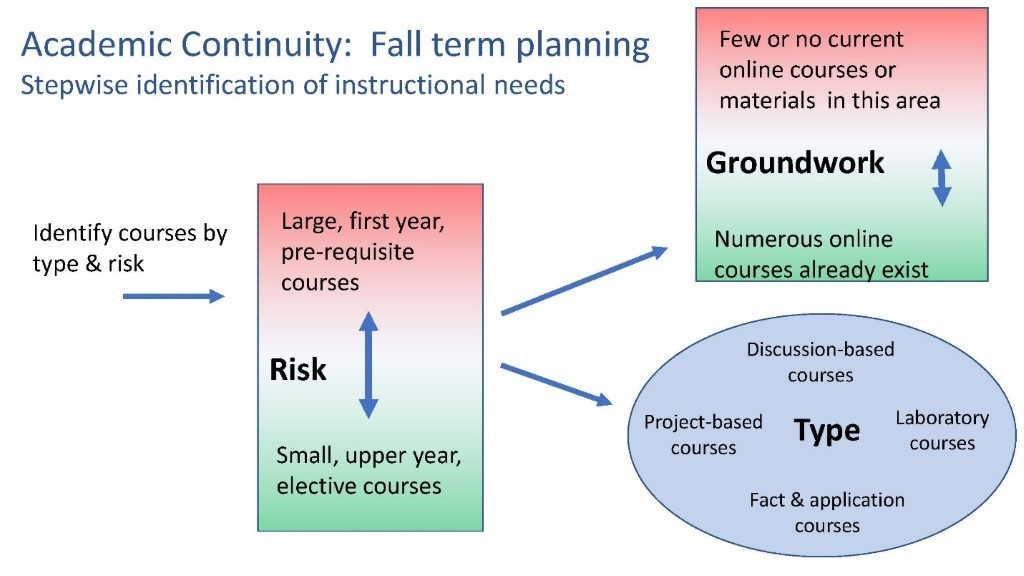 Academic Continuity: Fall Term Planning